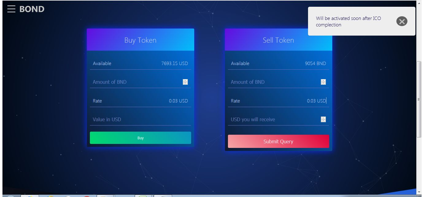 Bond Coin - ICO Token Sales Platform Screenshot 6