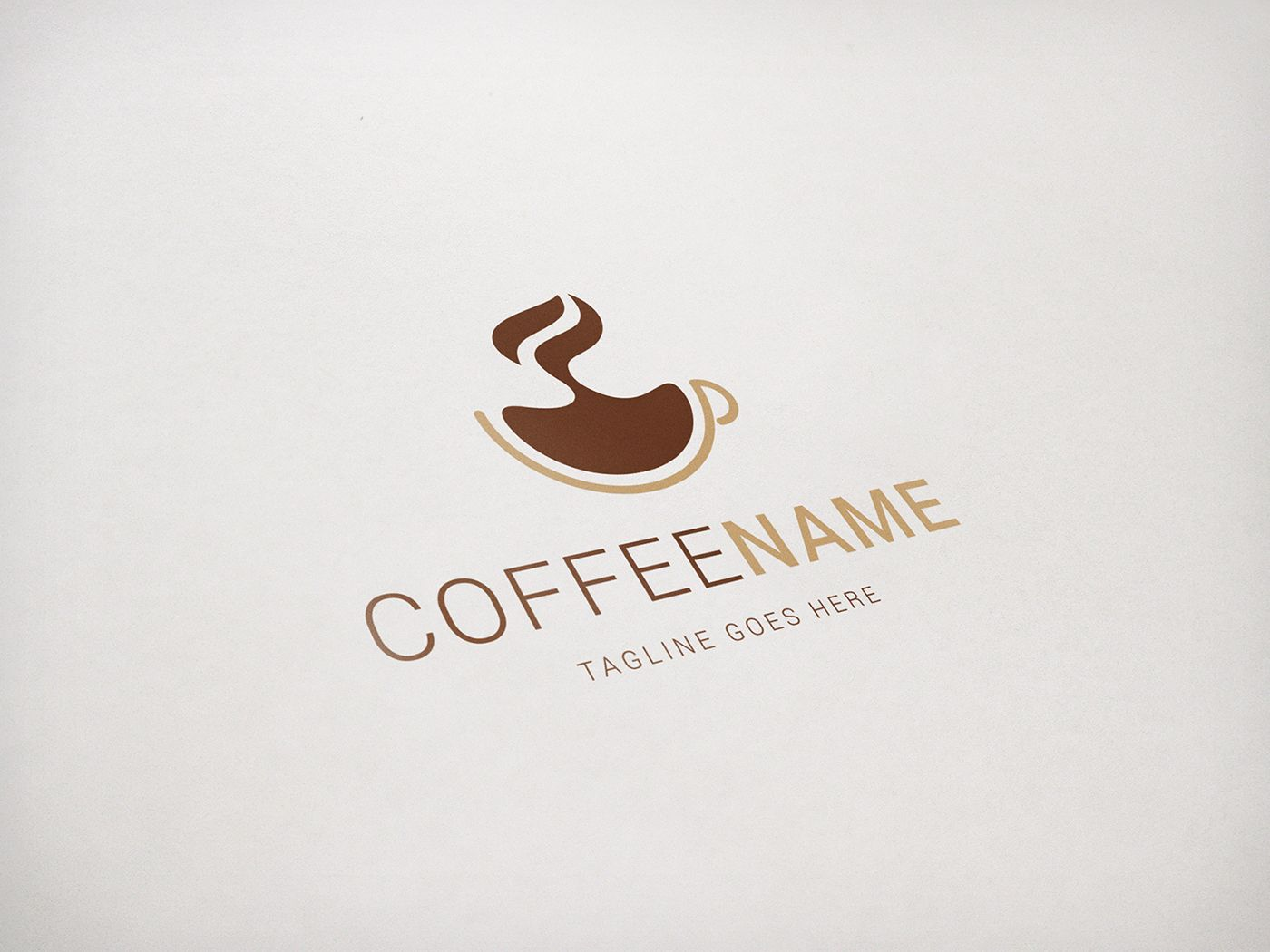 Coffee Logo Template Screenshot 1