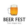 Logo Template Beer fest