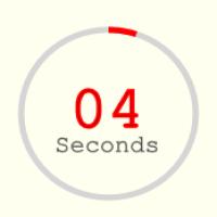 Circle Countdown Timer jQuery
