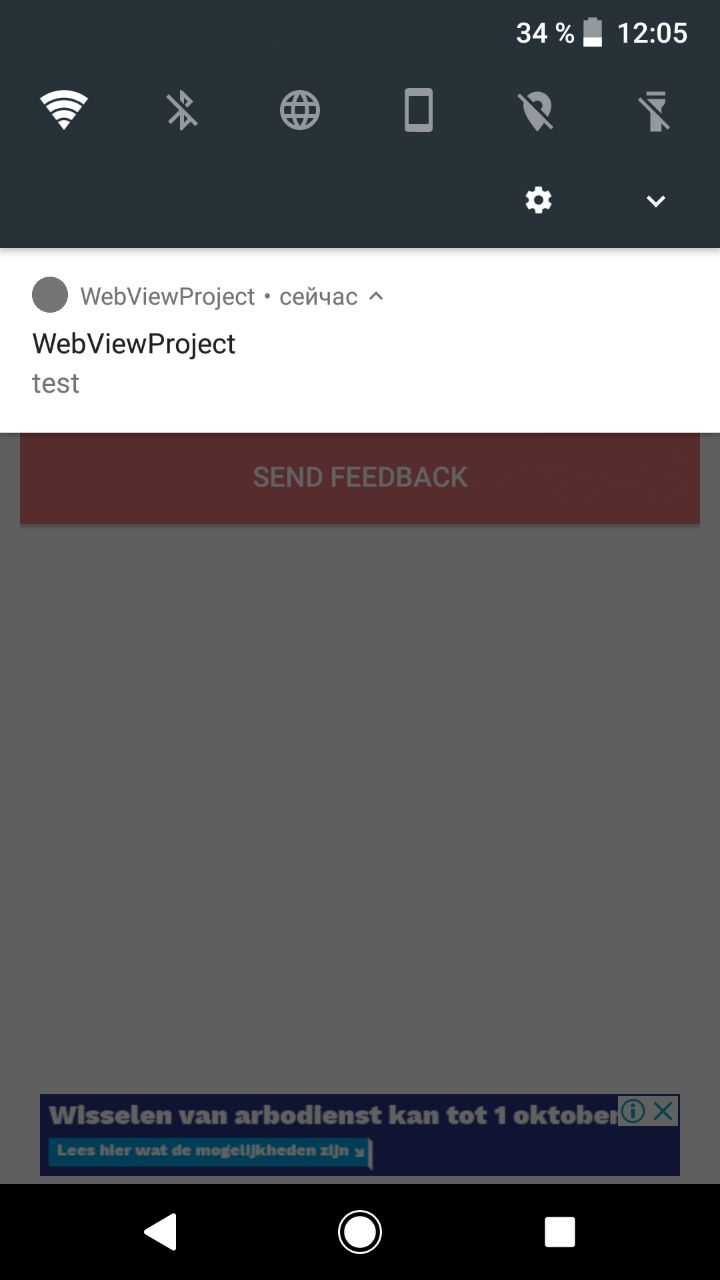 Web View - Android App Template Screenshot 3