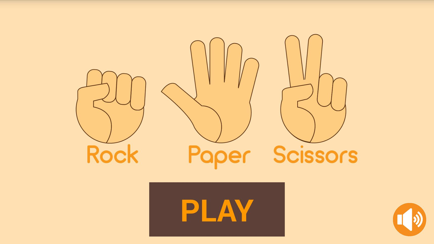 Rock Paper Scissors - Android Game Source Code Screenshot 1