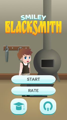 Smiley Blacksmith - Complete Unity Project Screenshot 1