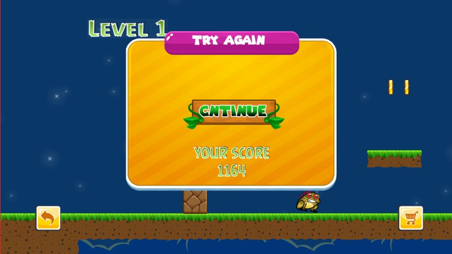 Super Gary World Adventure Buildbox Template Screenshot 7