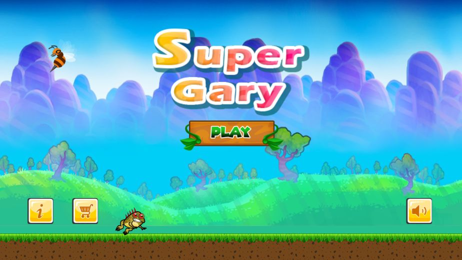 Super Gary World Adventure Buildbox Template Screenshot 9