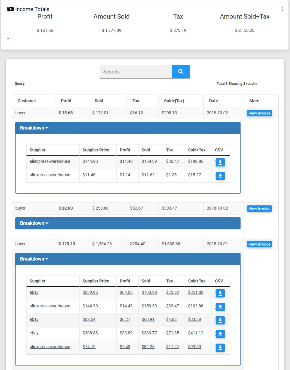 Laravel Complete Drop-Shipping Script Screenshot 8
