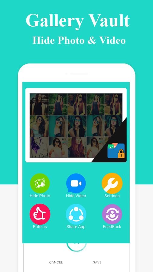 Gallery Vault - Hide Photo Android App Template Screenshot 1