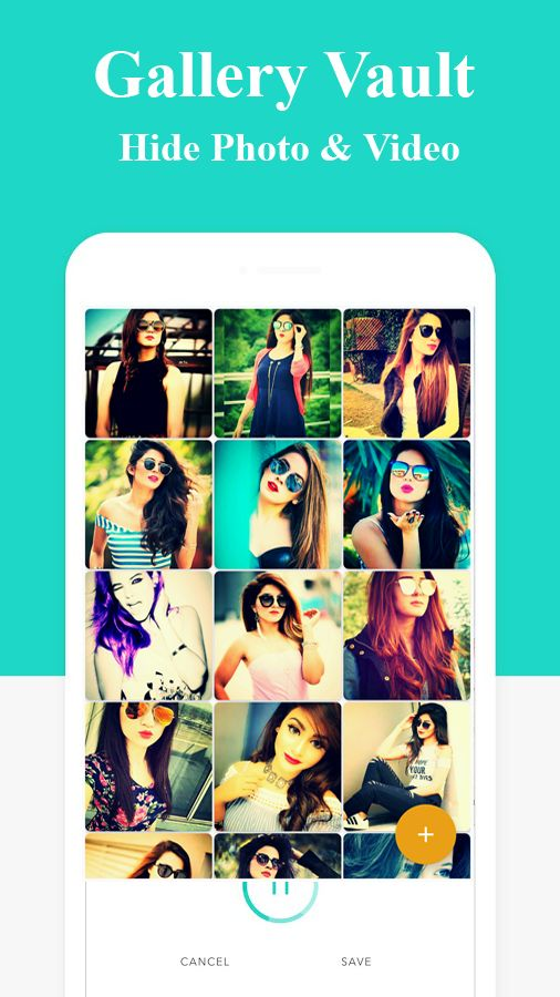 Gallery Vault - Hide Photo Android App Template Screenshot 2
