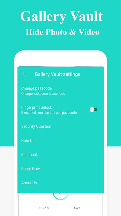 Gallery Vault - Hide Photo Android App Template Screenshot 5