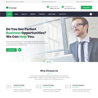 Ucorpa - Multipurpose Corporate HTML5 Template