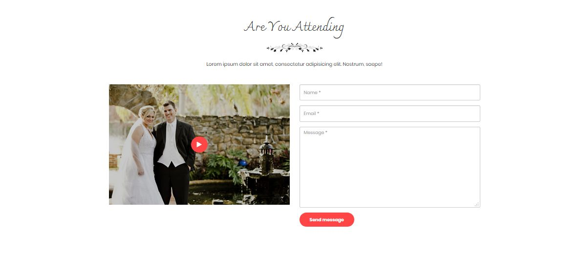 sporsho one page wedding invitation template codester
