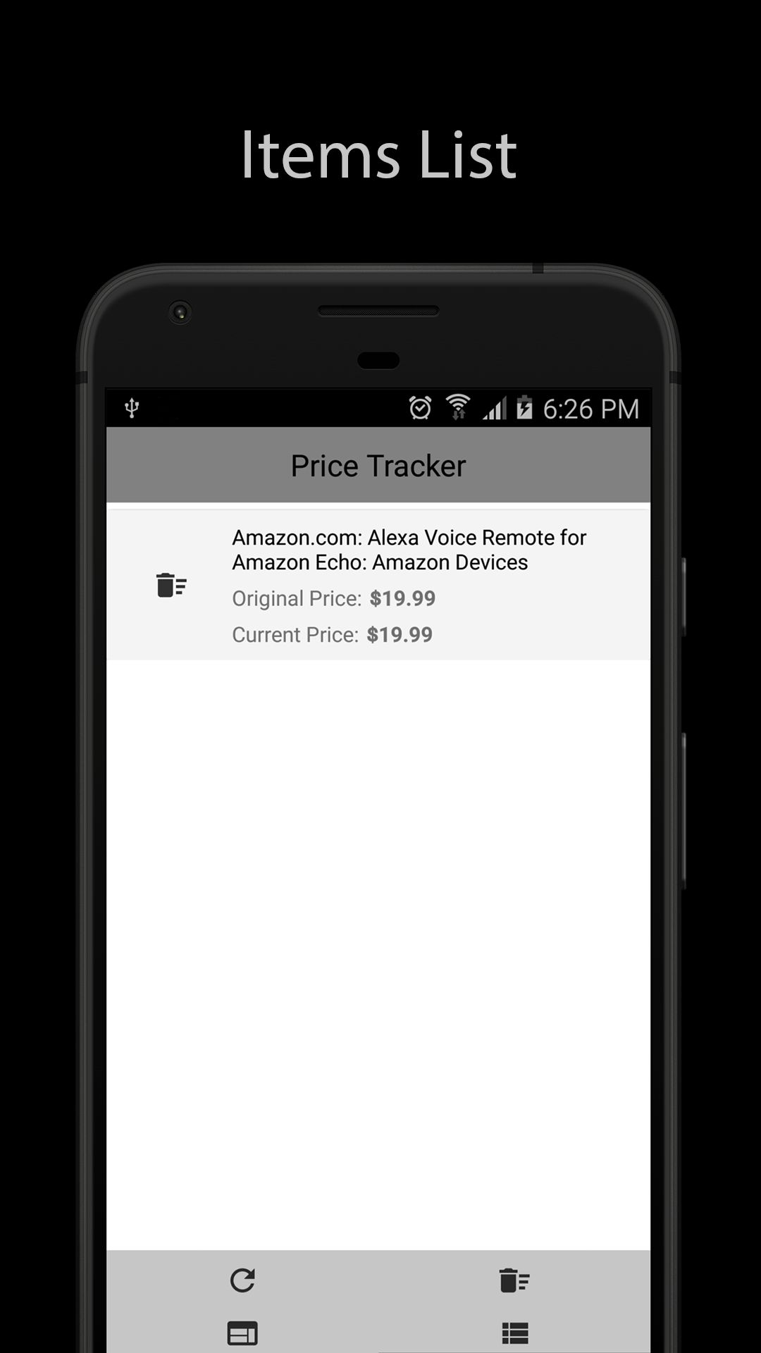 Amazon Price Tracker - Android App Source Code Screenshot 8