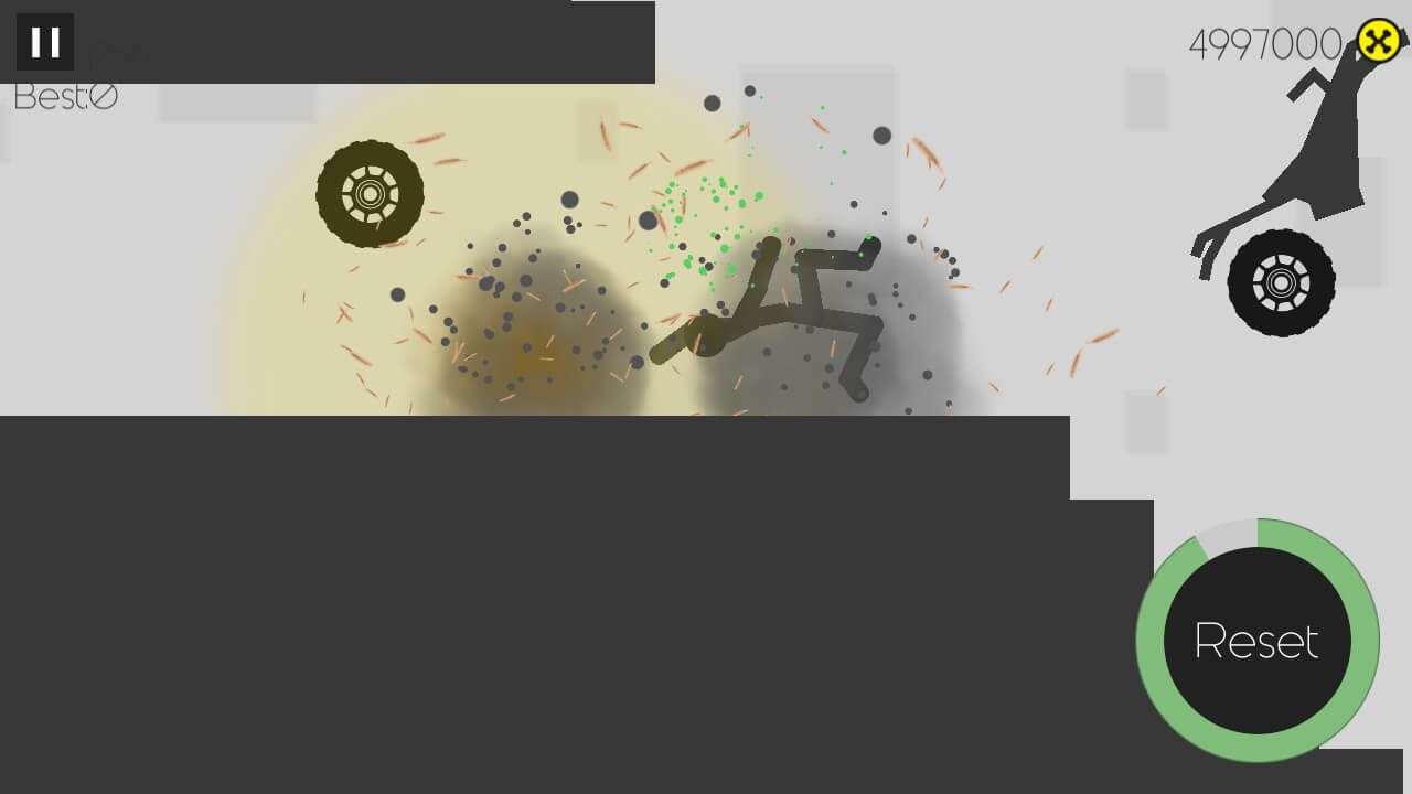 Stickman Turbo Dismounting - Unity Project Screenshot 2