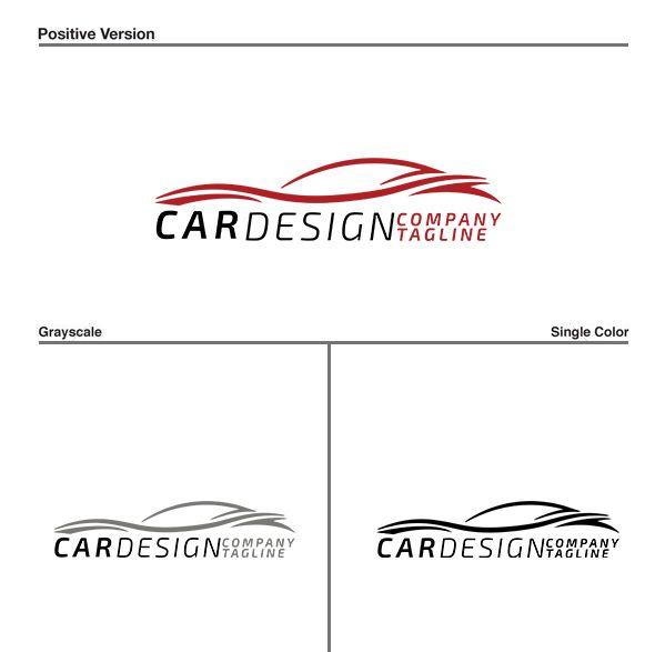 Car Line Logo Design Screenshot 1