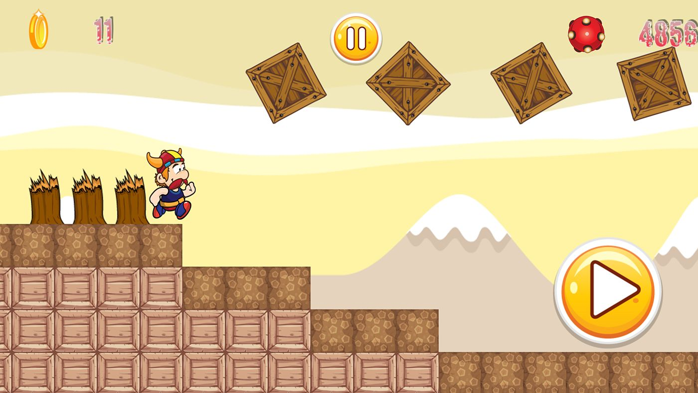 Super Adventure Runner - Android App Code Screenshot 2