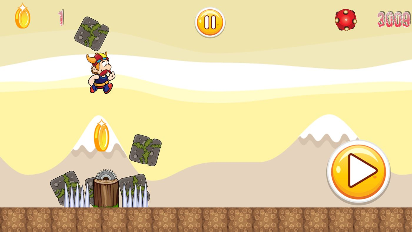 Super Adventure Runner - Android App Code Screenshot 5