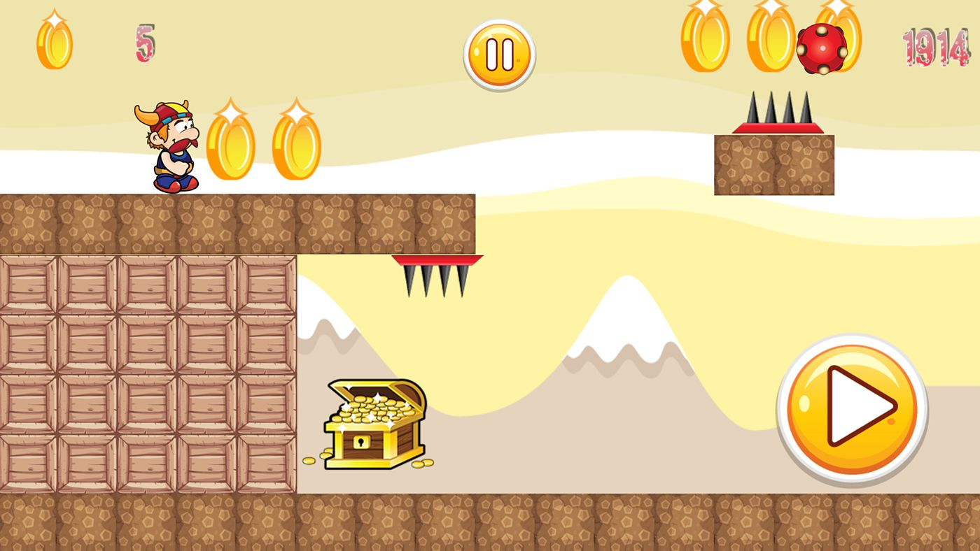 Super Adventure Runner - Android App Code Screenshot 6