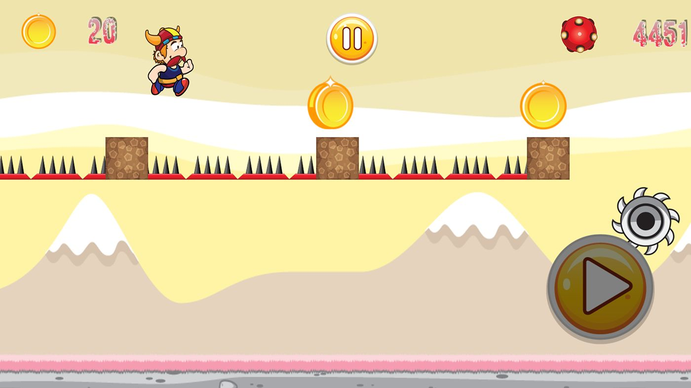 Super Adventure Runner - Android App Code Screenshot 10