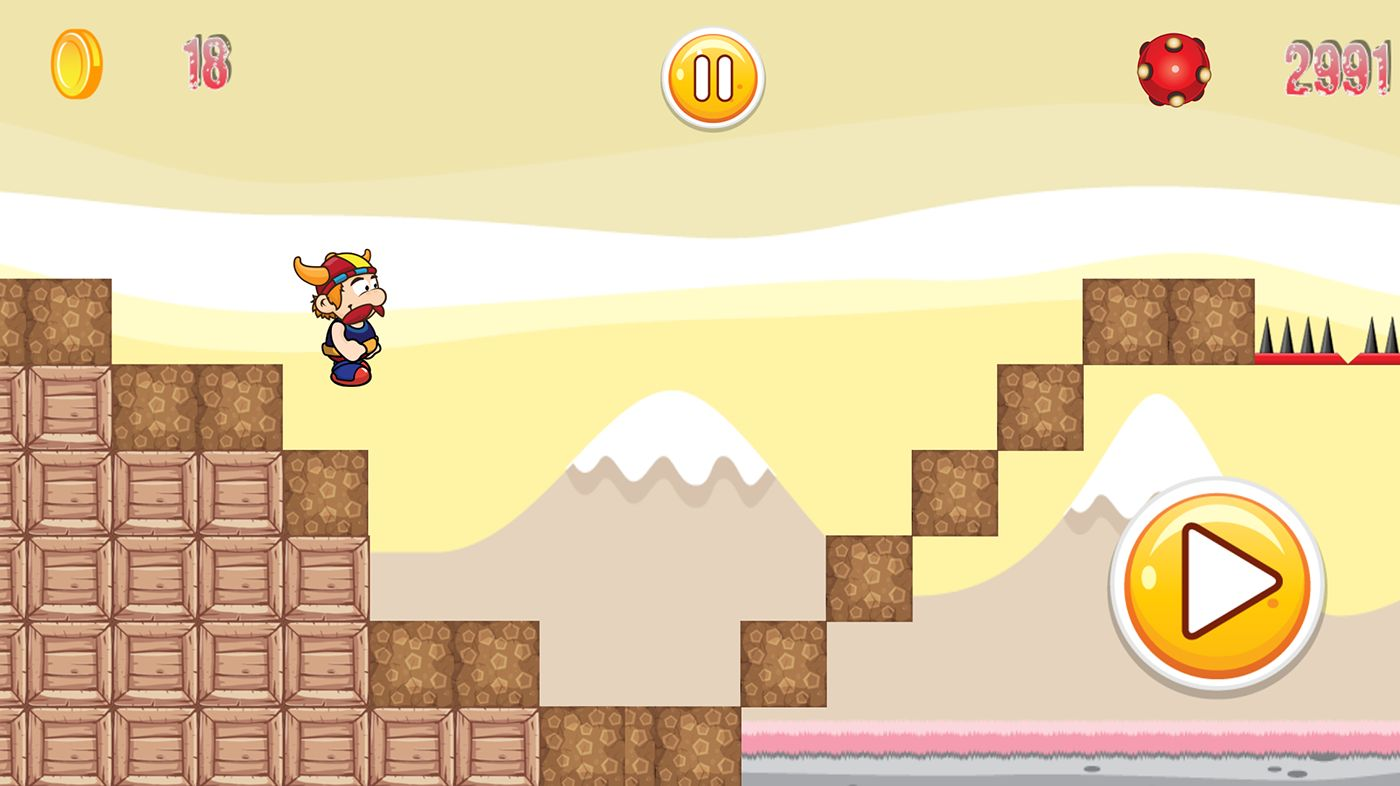 Super Adventure Runner - Android App Code Screenshot 11