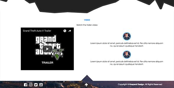 PowerGaming - Gaming HTML Template Screenshot 4