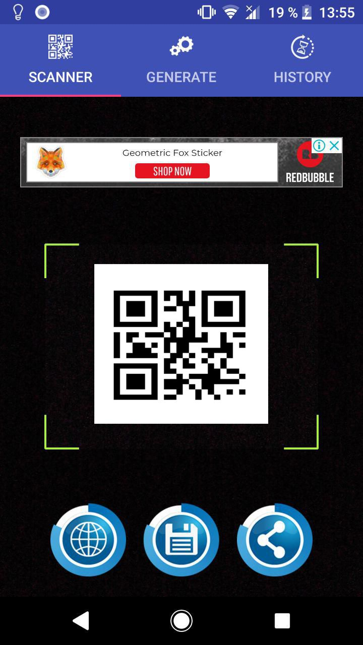QR Code Scanner - Android Template Screenshot 1