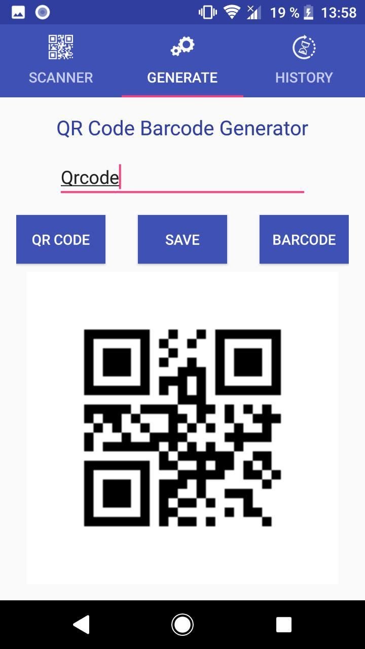 QR Code Scanner - Android Template Screenshot 3