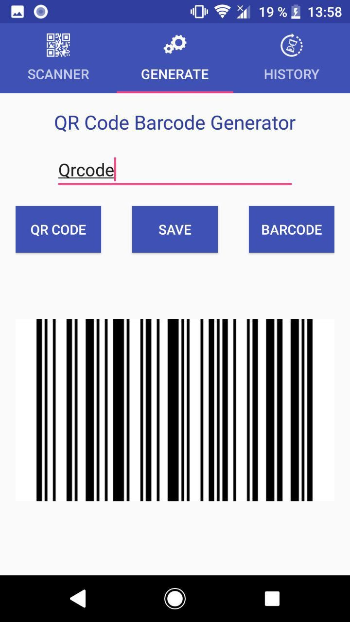 QR Code Scanner - Android Template Screenshot 4