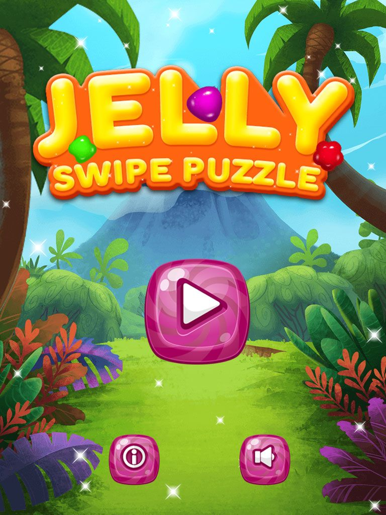 Jelly Swipe Puzzle - iOS Source Code Screenshot 1