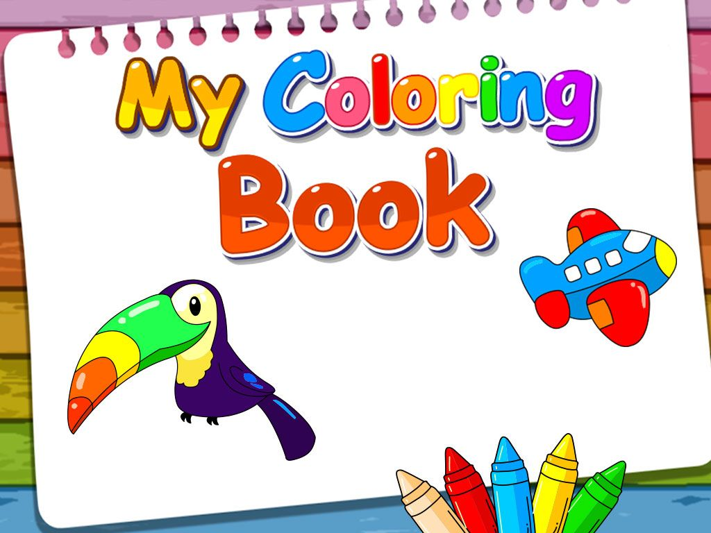 My Coloring Book - iOS Source Code Screenshot 1