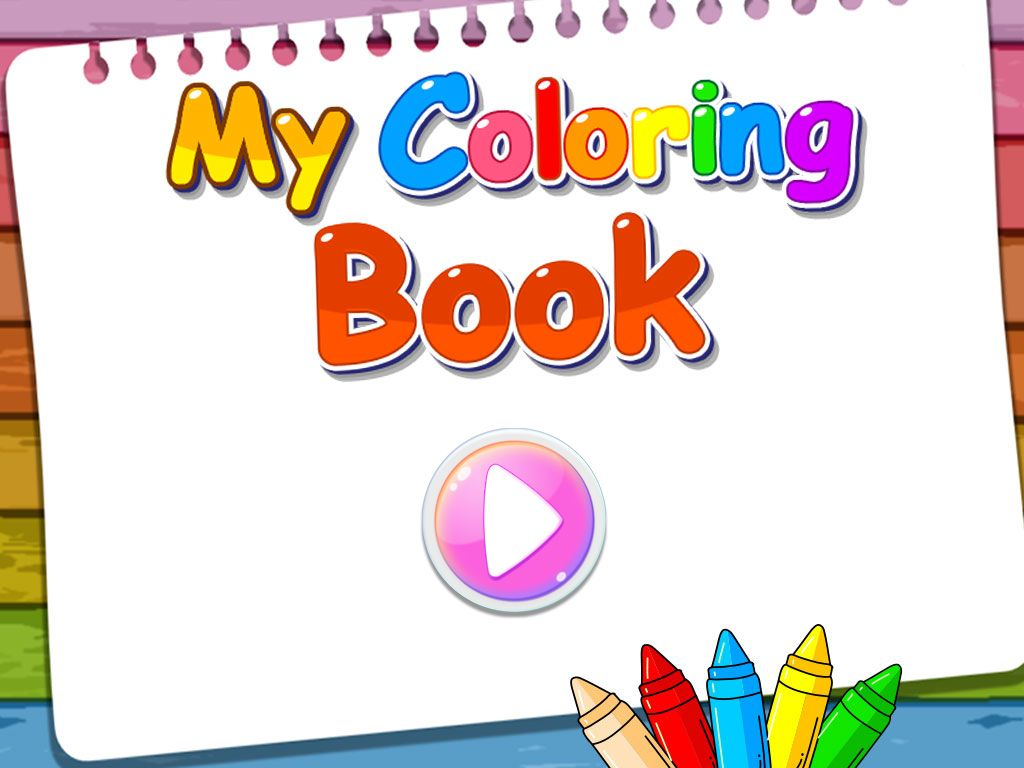 My Coloring Book - iOS Source Code Screenshot 2