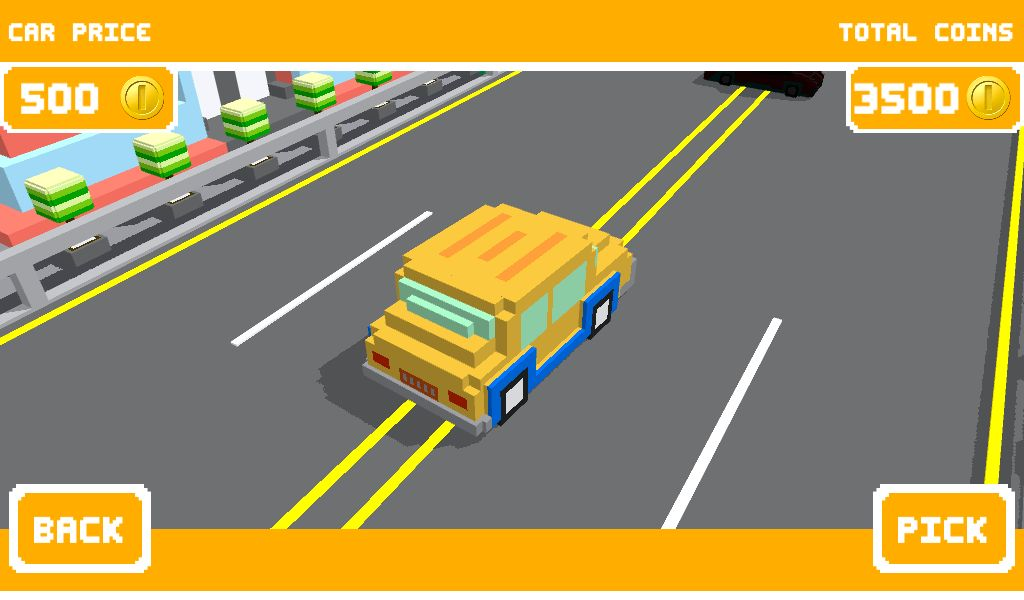 Unity Game Template - Blocky Highway Screenshot 4