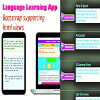 Language Learning - Android App with Bootstrap