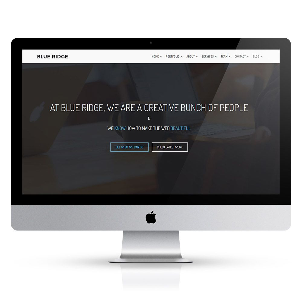 Blue Ridge - MultiPurpose Portfolio HTML Template Screenshot 15