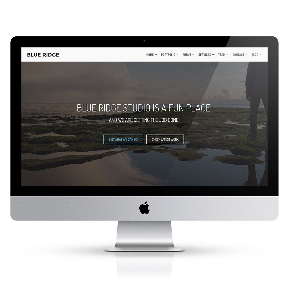 Blue Ridge - MultiPurpose Portfolio HTML Template Screenshot 16
