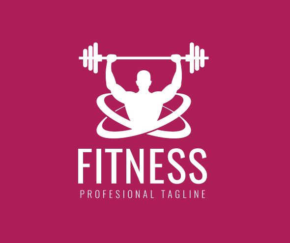 Gymnasium Fitness Logo Screenshot 2