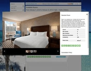 Reservation Widget for uHotelBooking Screenshot 2
