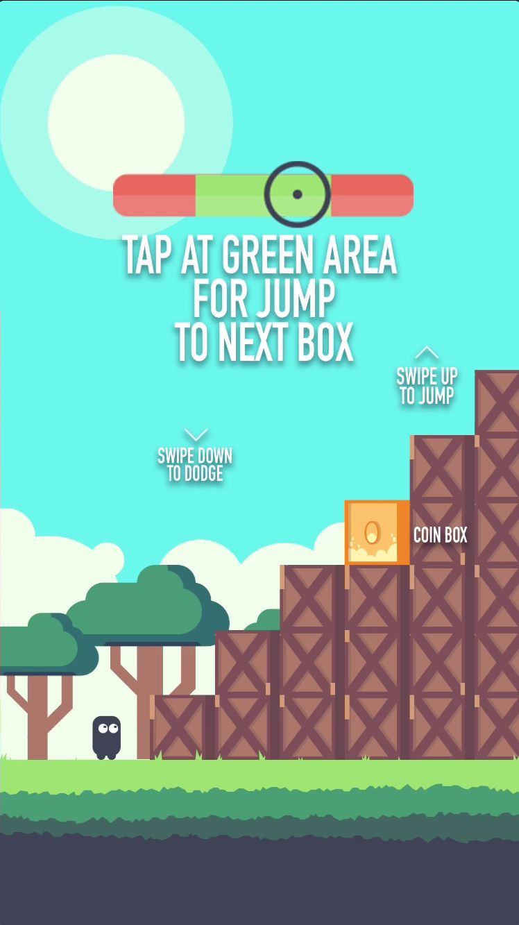 Box Jumper - iOS Source Code Screenshot 4