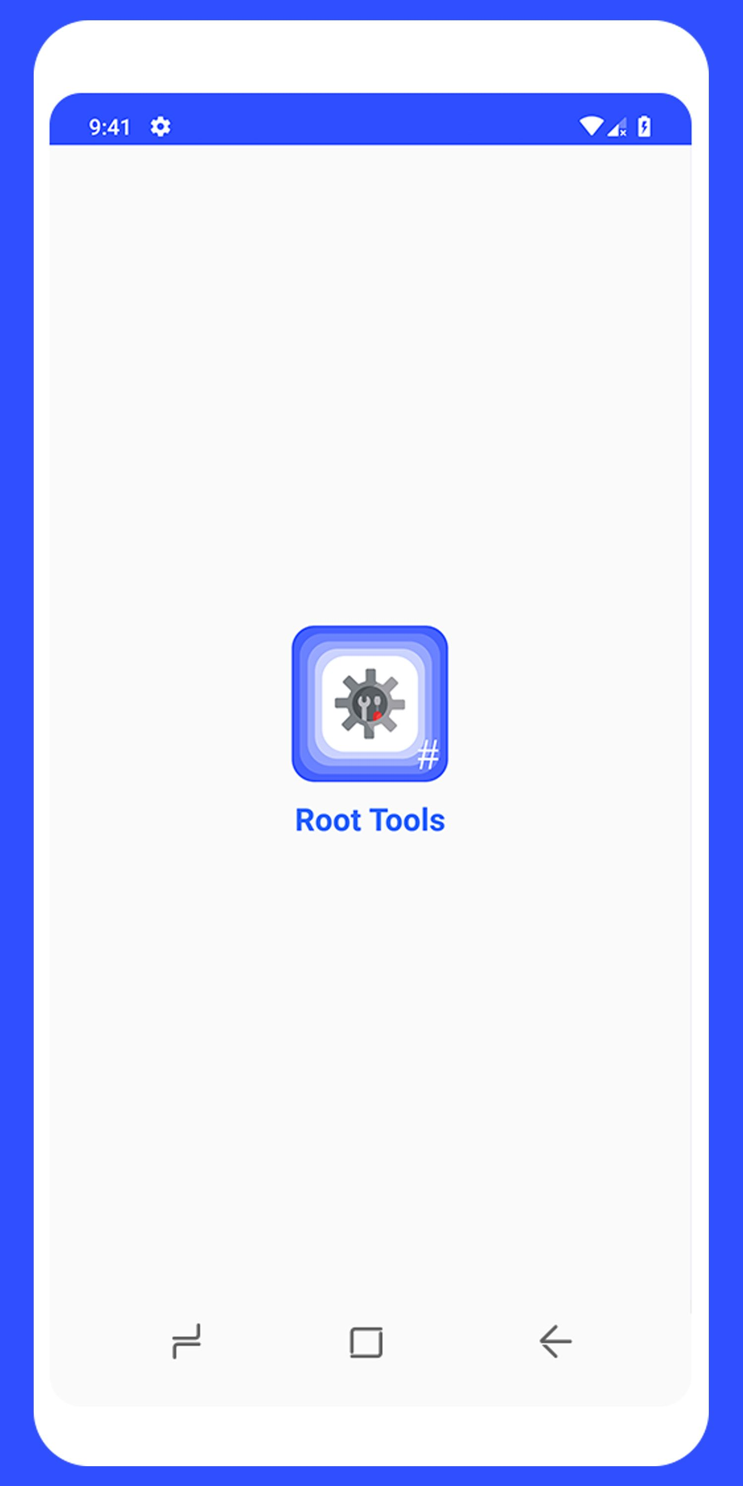 Root Tools Android App Source Code Screenshot 1