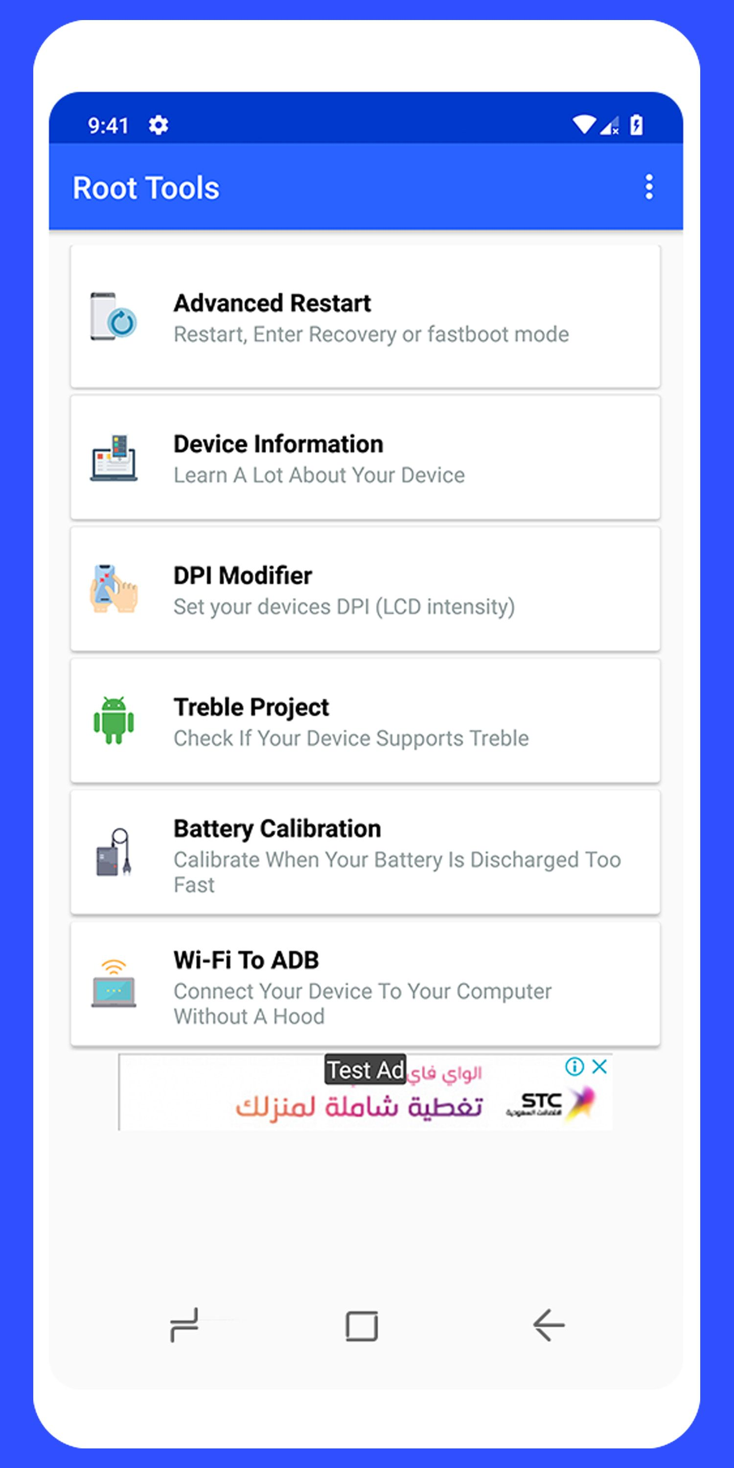 Root Tools Android App Source Code Screenshot 4