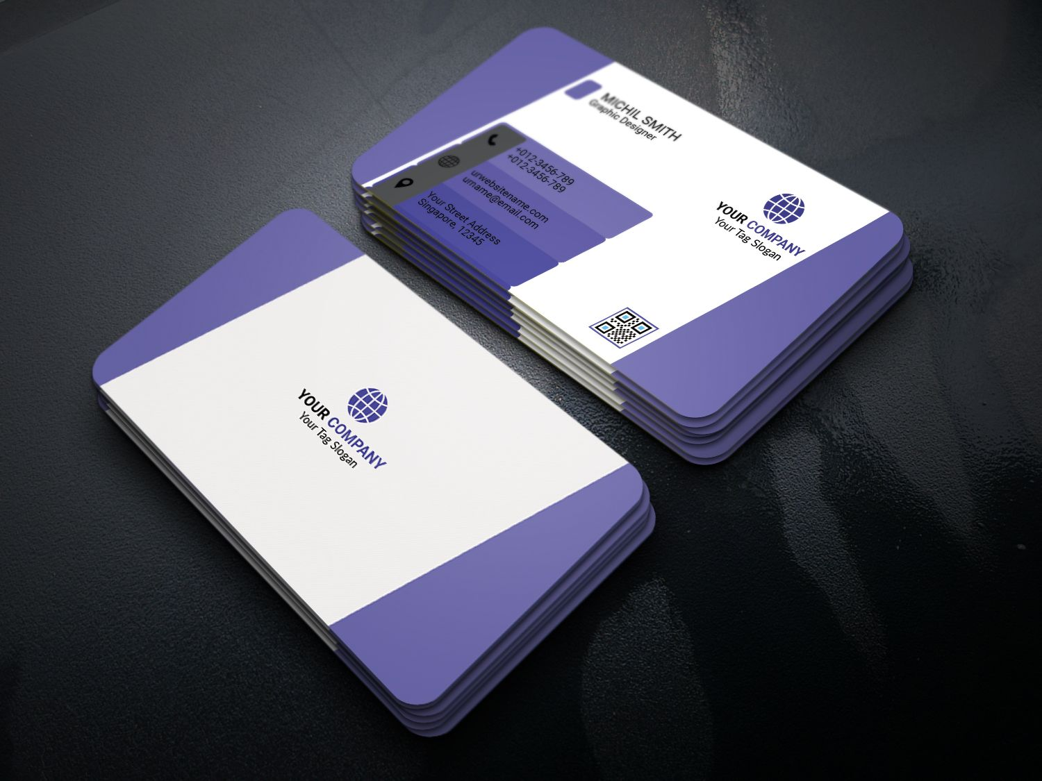 Modern Business Card Screenshot 3