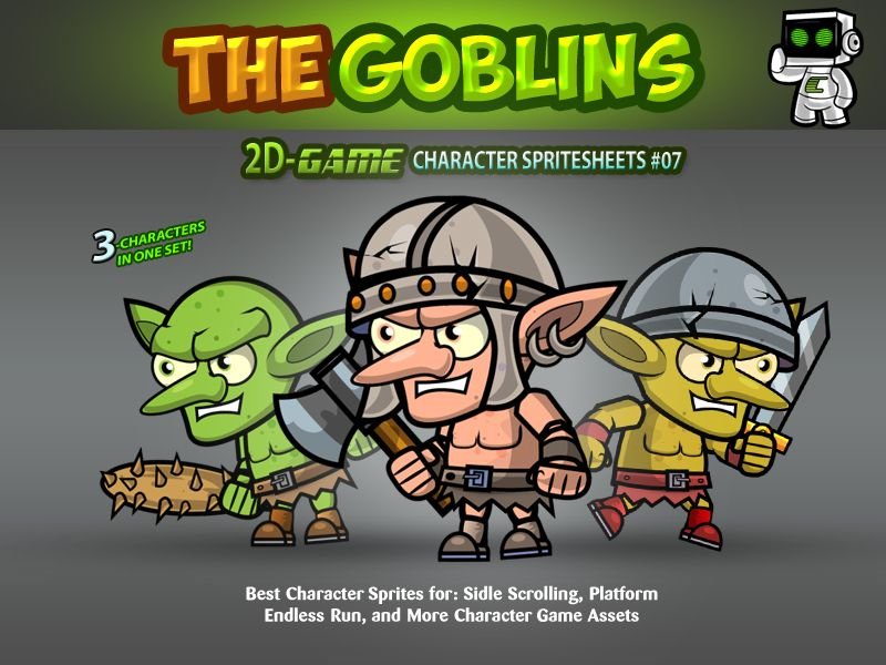 Goblin Enemies Game Character Sprites 07 Screenshot 1