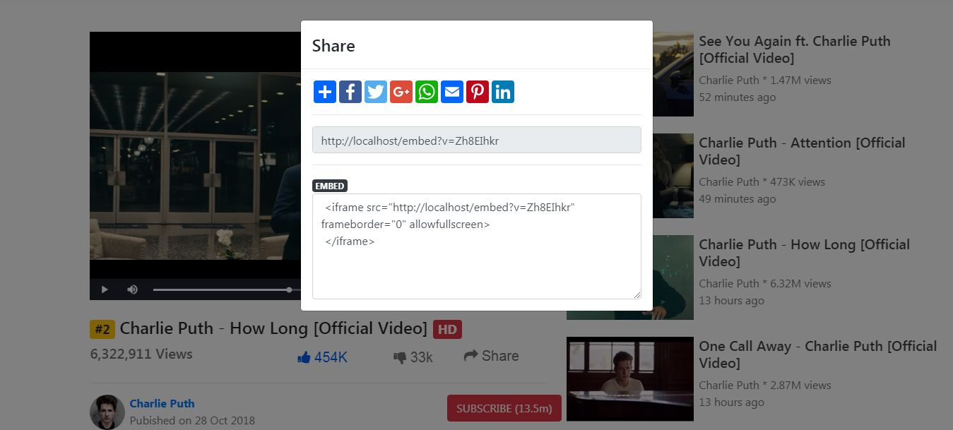 Vidflix - Video Sharing Platform PHP Screenshot 17