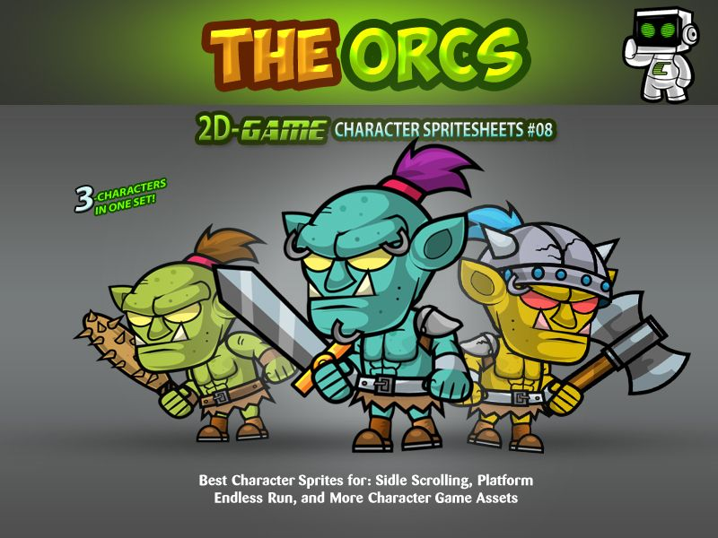 Ors 2D Game Character SpriteSheets 08 Screenshot 1