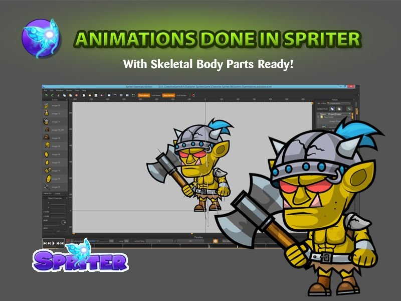 Ors 2D Game Character SpriteSheets 08 Screenshot 3