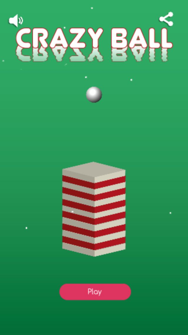 Crazy Ball - Buildbox Template Screenshot 1