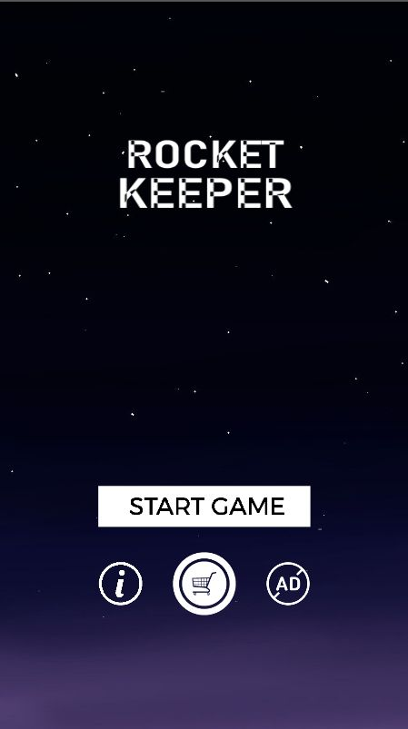 Rocket Keeper - Buildbox Template Screenshot 1