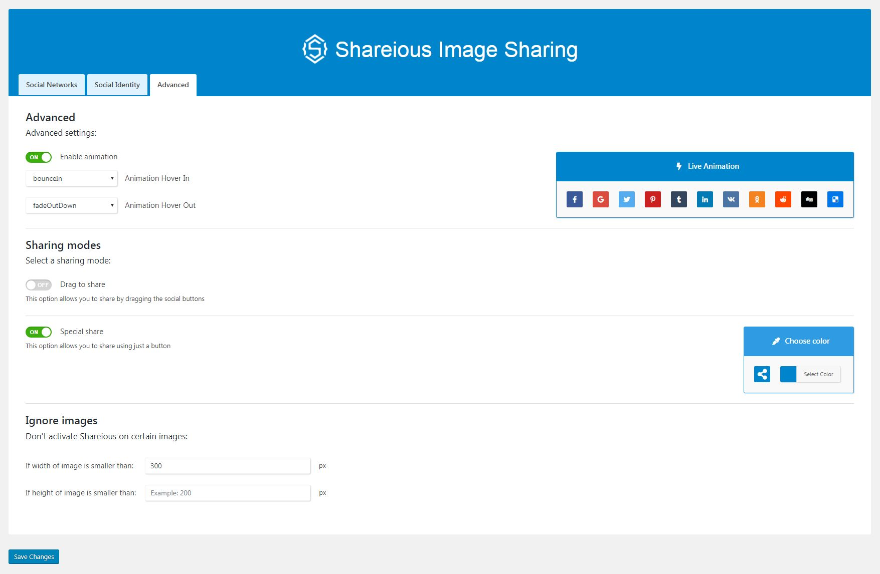 Shareious - WordPress Image Sharing Plugin Screenshot 3