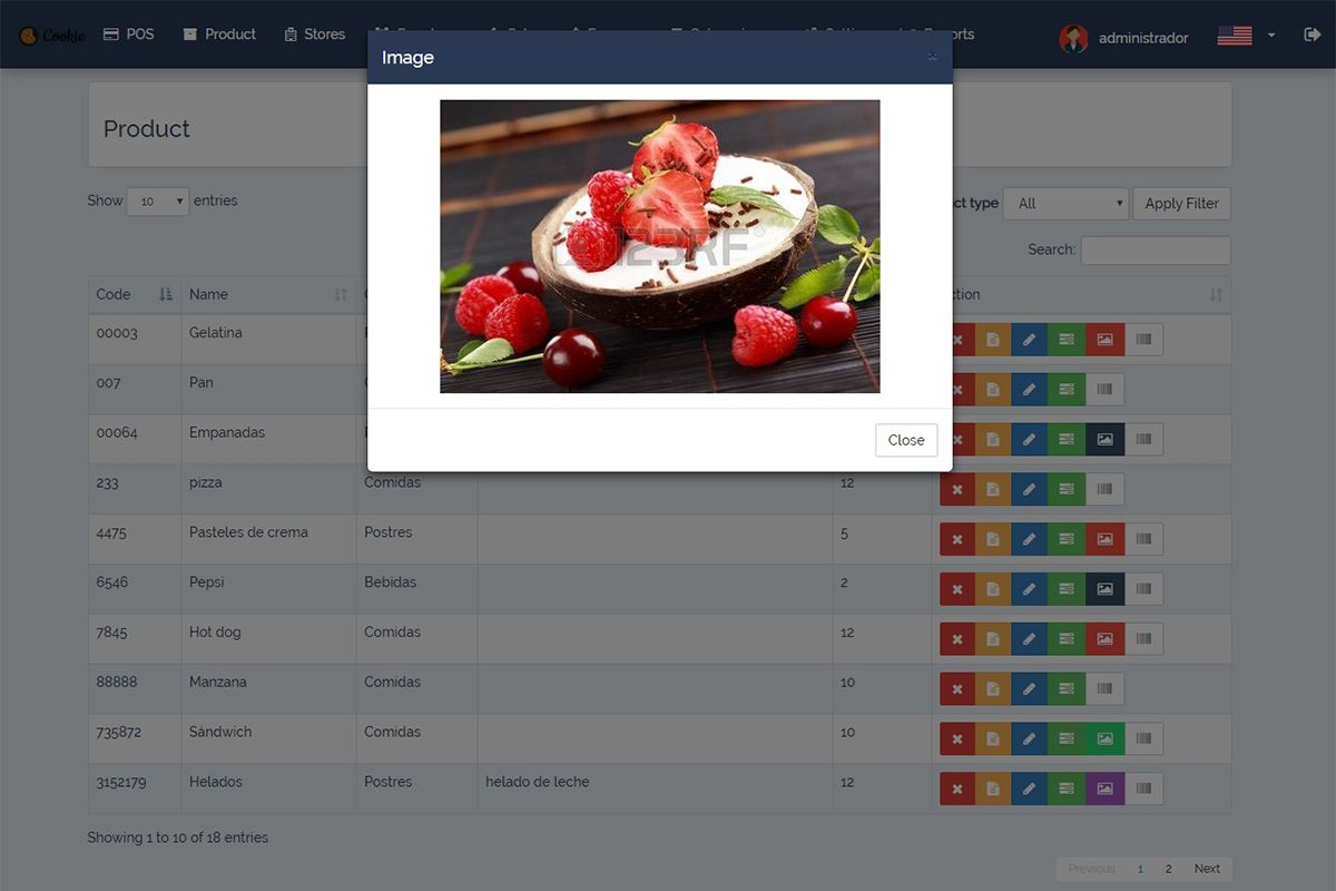 Cookie - Restaurant POS System Screenshot 4